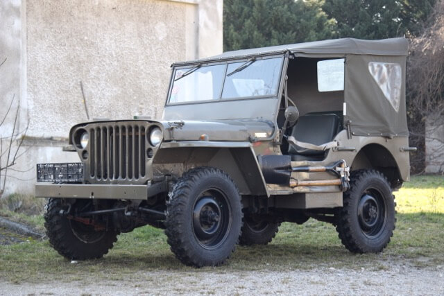 US Jeep Ankauf